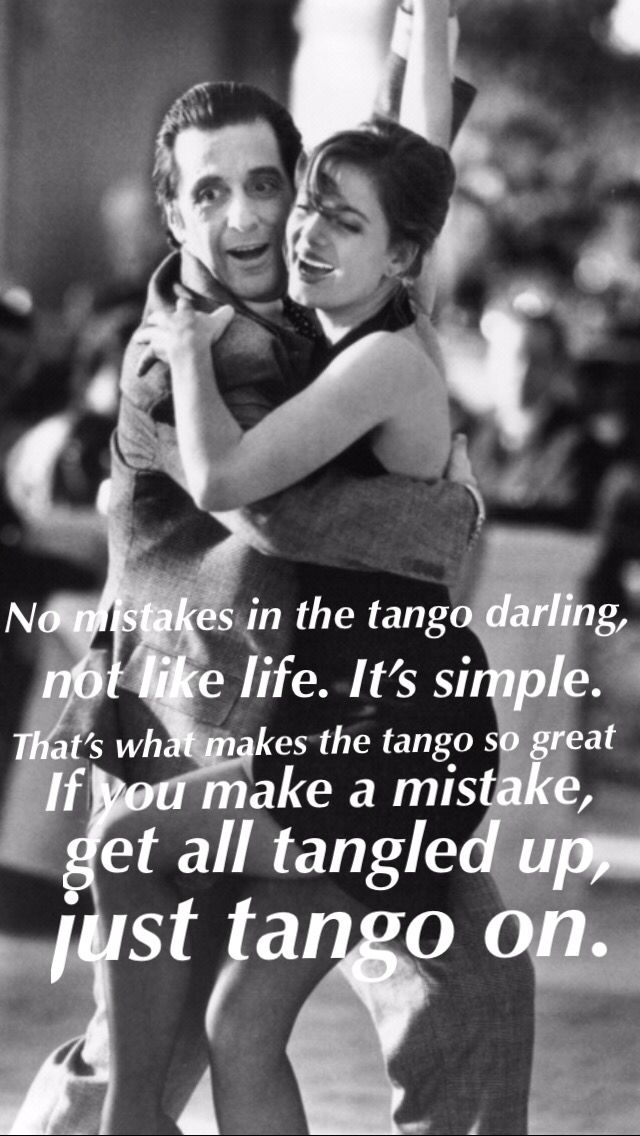 Scent Of A Women The Tango Scent Of A Woman Pinterest