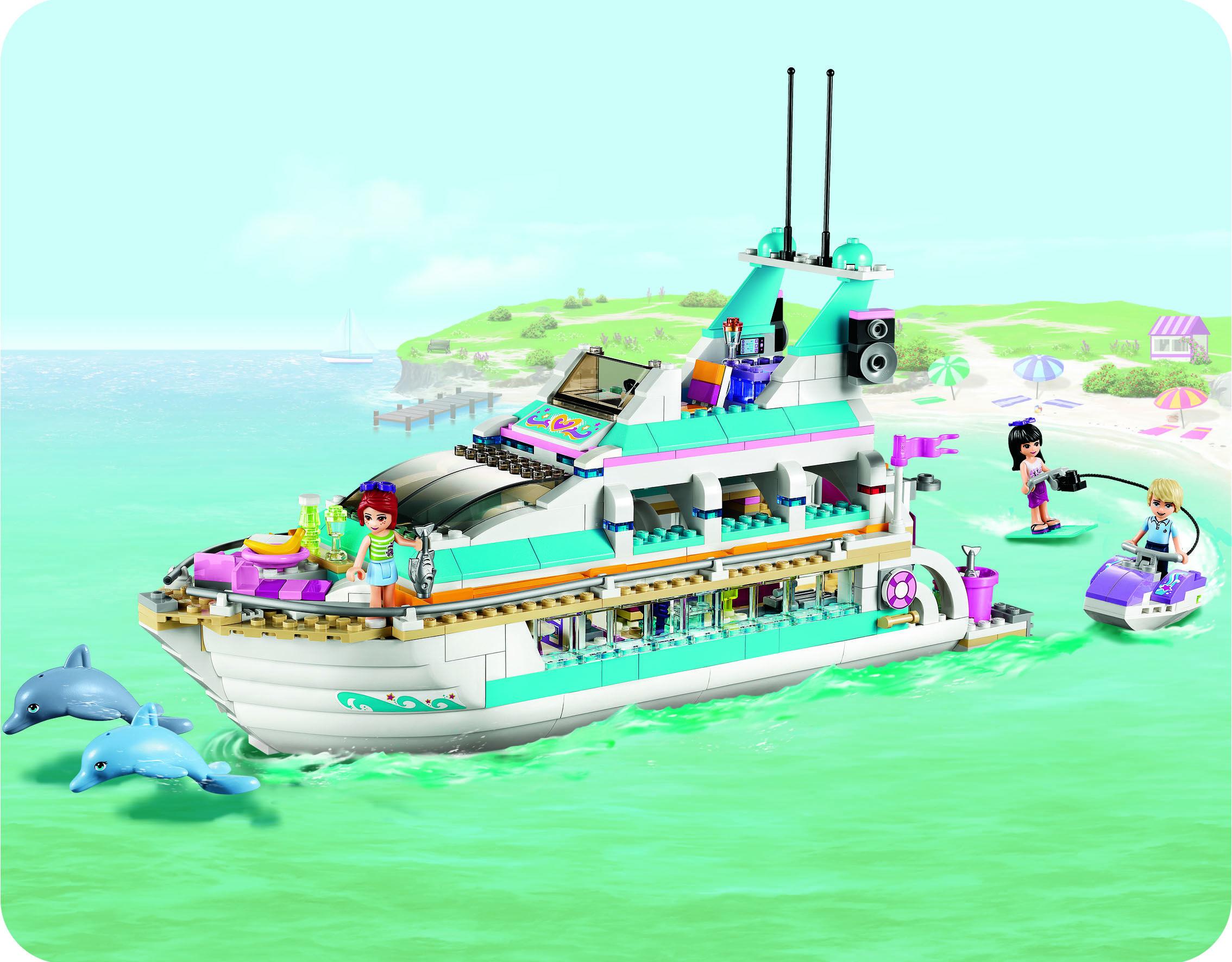 Le Yacht de LEGO@FRIENDS Elu par les filles dans la ...