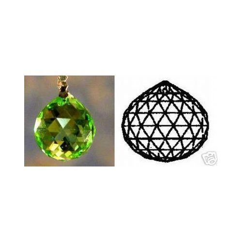 30mm Swarovski Strass Peridot Crystal Ball Prisms #8558-30-logo Etched! 8 Rows of Facets! by Swarovski. $14.40. Hung in windows, crystals can bring chi energy from the outside into dark areas of your home or office.A crystal placed in the south-east, north-west, or center of a room can aid in stimulating prosperity. Only the finest quality lead crystal is used which makes them the most valued type of crystal. Each is made with a hole for attaching to projects, or for ha...