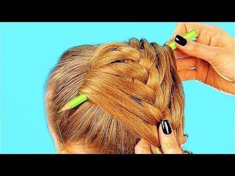 10 Peinados De Un Minuto Para Ninas Youtube Coiffure Facile Coiffure Fillette Facile Coiffures Simples