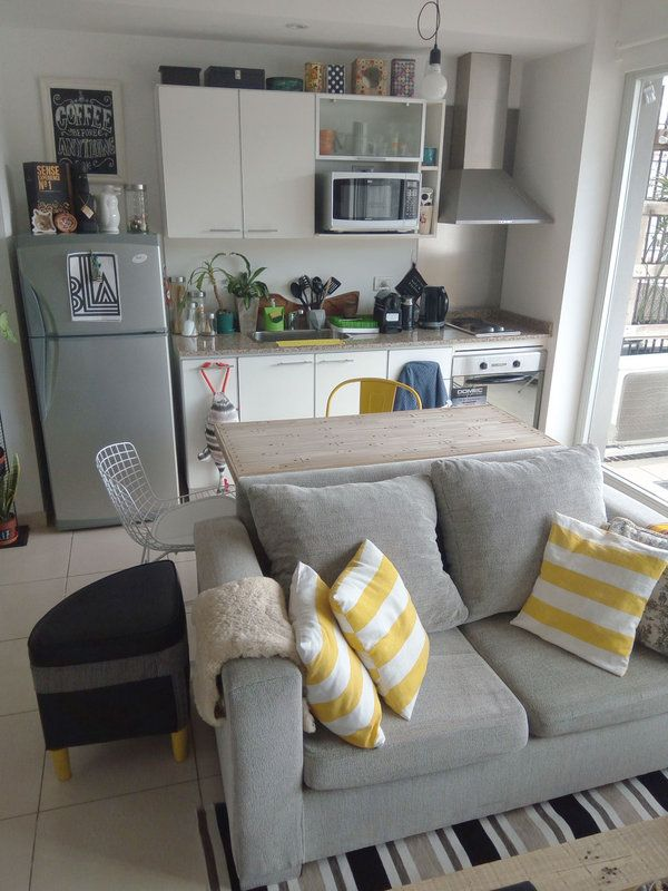 Un apartamento de soltero con mucho diy gustos for Diseno de apartamento de soltero