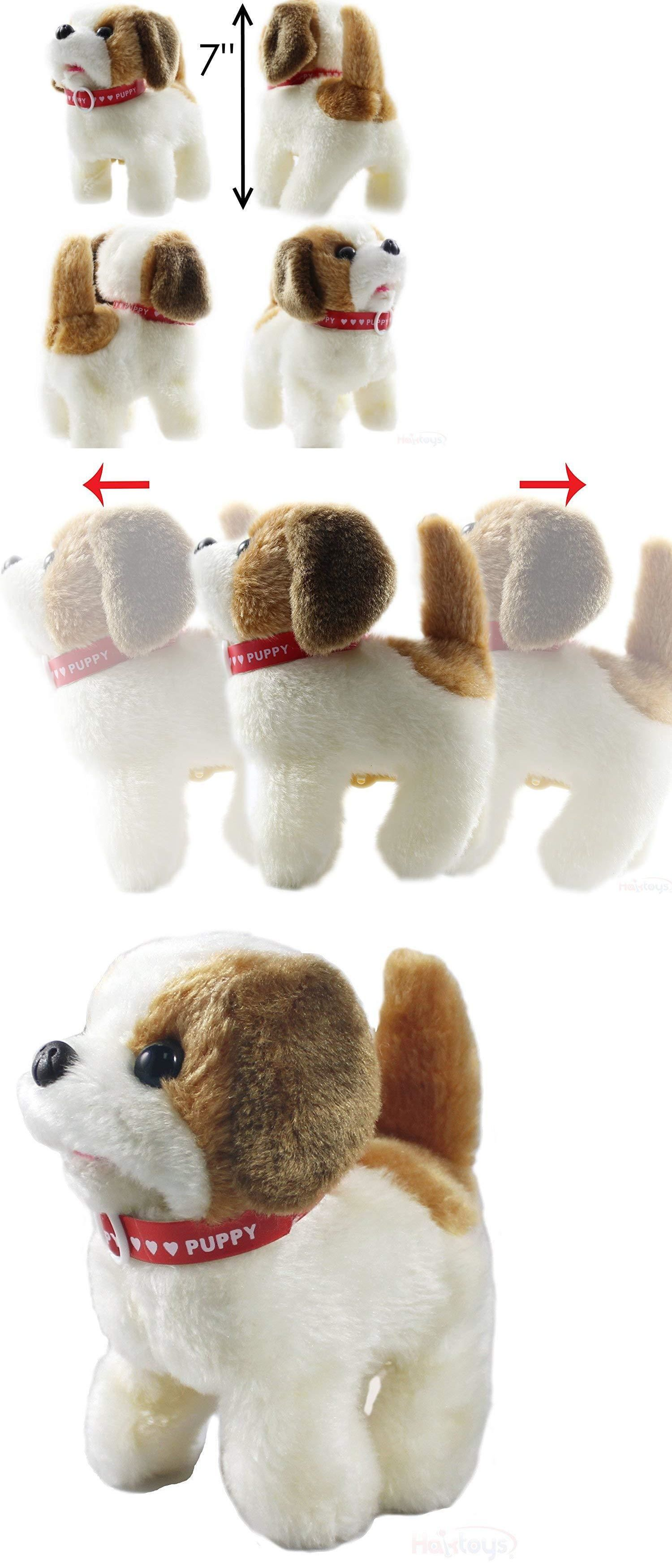 Details About Toy Puppy Dog Pet Battery Operated Walking Tail