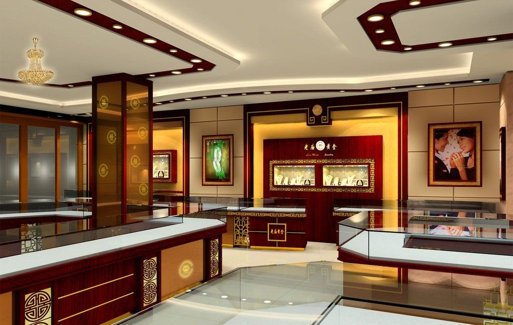 jewellery shop interior design jewelery