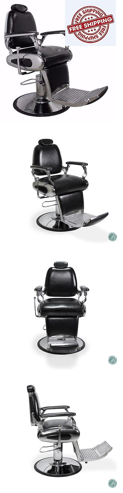 Awesome Stylist Stations And Furniture: Barber Chair Stainless Steel Fixtures Salon  Black Beauty Delano  U003e Nice Ideas