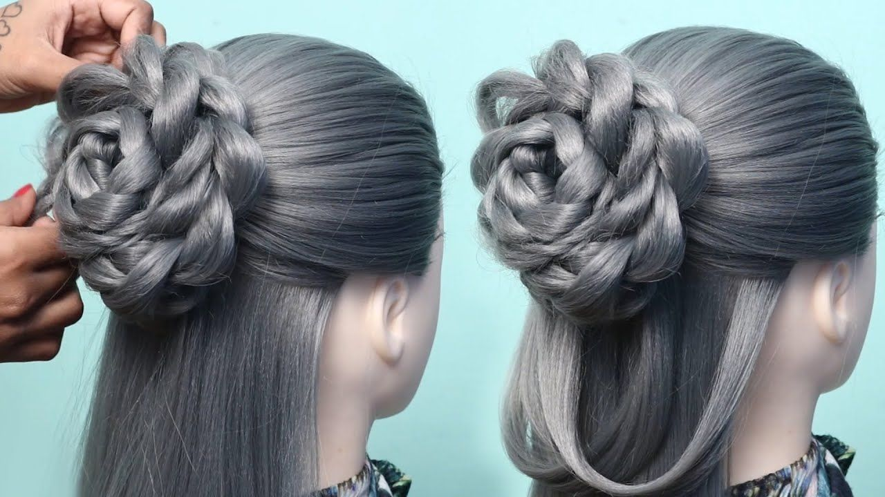 Hairstyles Tutorials For Girls New Beautiful Juda Hairstyle For Weddin Hair Styles New Hair Look Diy Hairstyles
