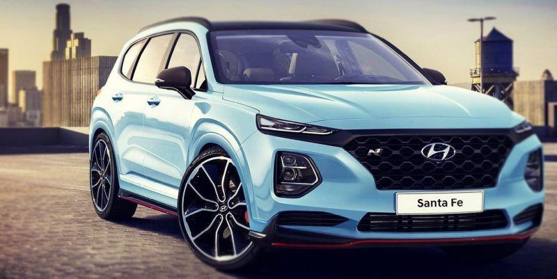 2019 Hyundai Santa Fe N First Images, Specs Hyundai suv