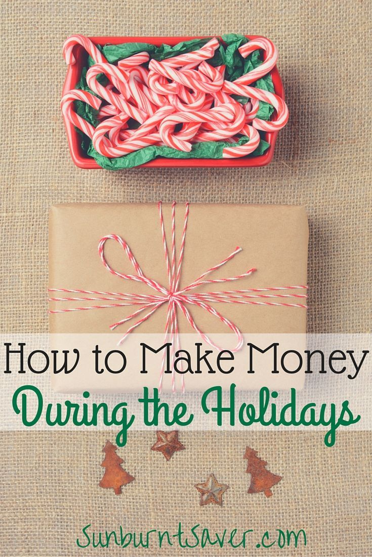 How to Make Money During The Holidays advise