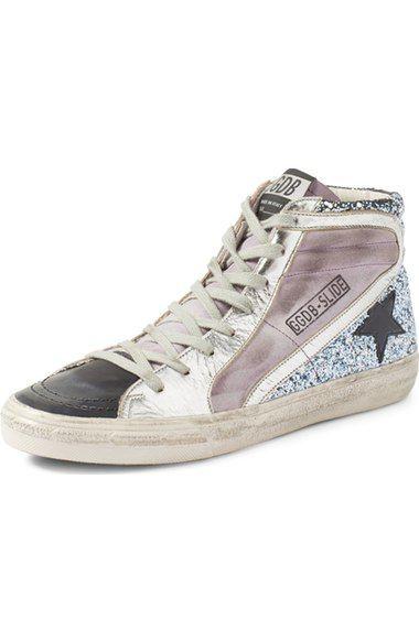 Wonderbaar GOLDEN GOOSE 'Slide' High Top Sneaker (Women). #goldengoose #shoes LZ-96