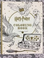 Harry Potter Adult Coloring Book With Full Color Story Pages In Back Scholastic