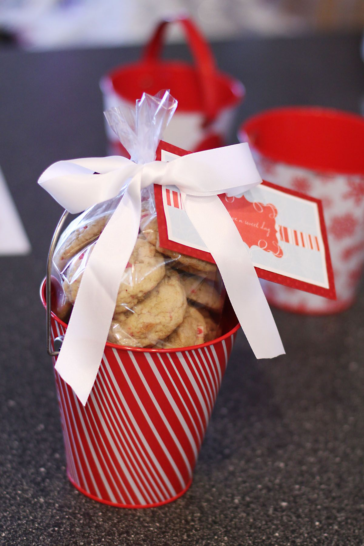 How To Package Christmas Cookies