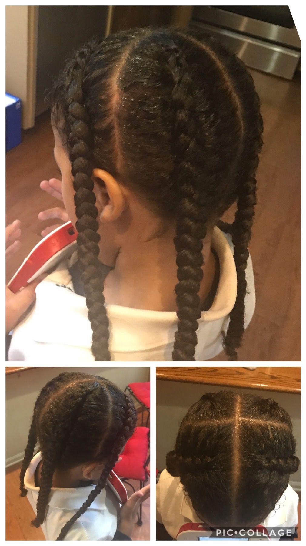 Pin By Strxngbandz On Braided Braids For Boys Boys Long Hairstyles Kids Boy Hairstyles