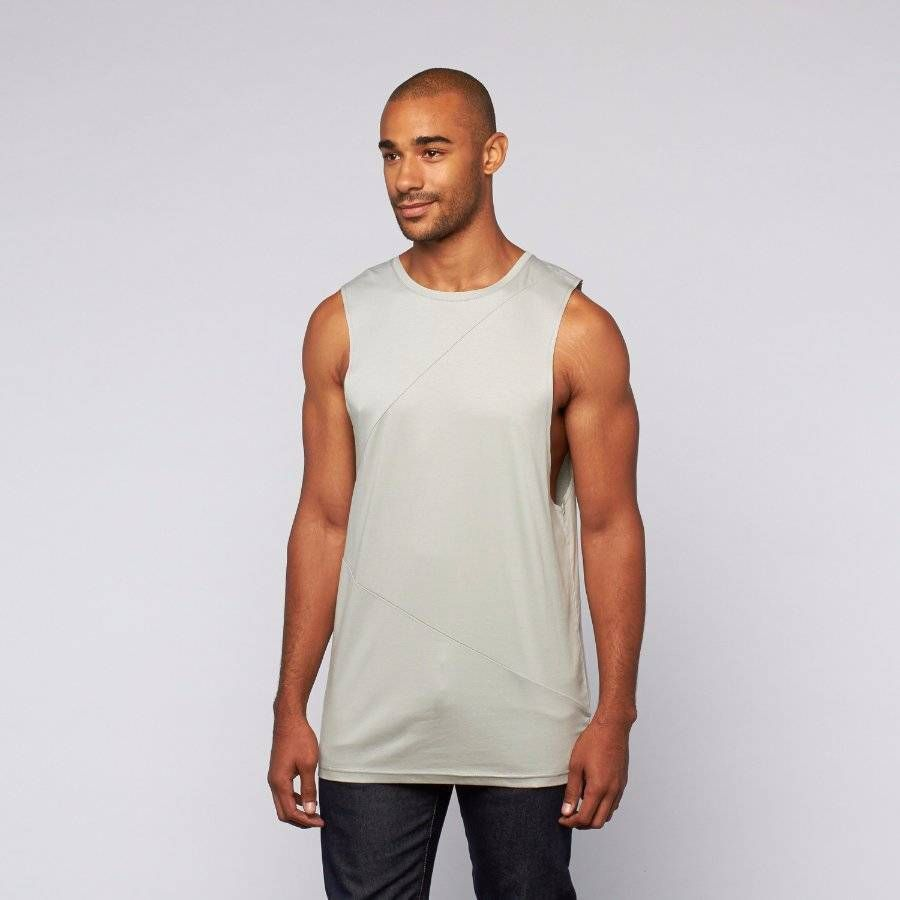 NWT~Matiere~Ford Highrise Tank~Gray~Cotton Blend~M~$98 **CURRENT SEASON** #Matiere #BasicTee