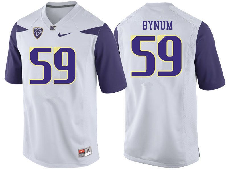 new style f5f9e 6d842 Men #59 Draco Bynum Washington Huskies College Football ...