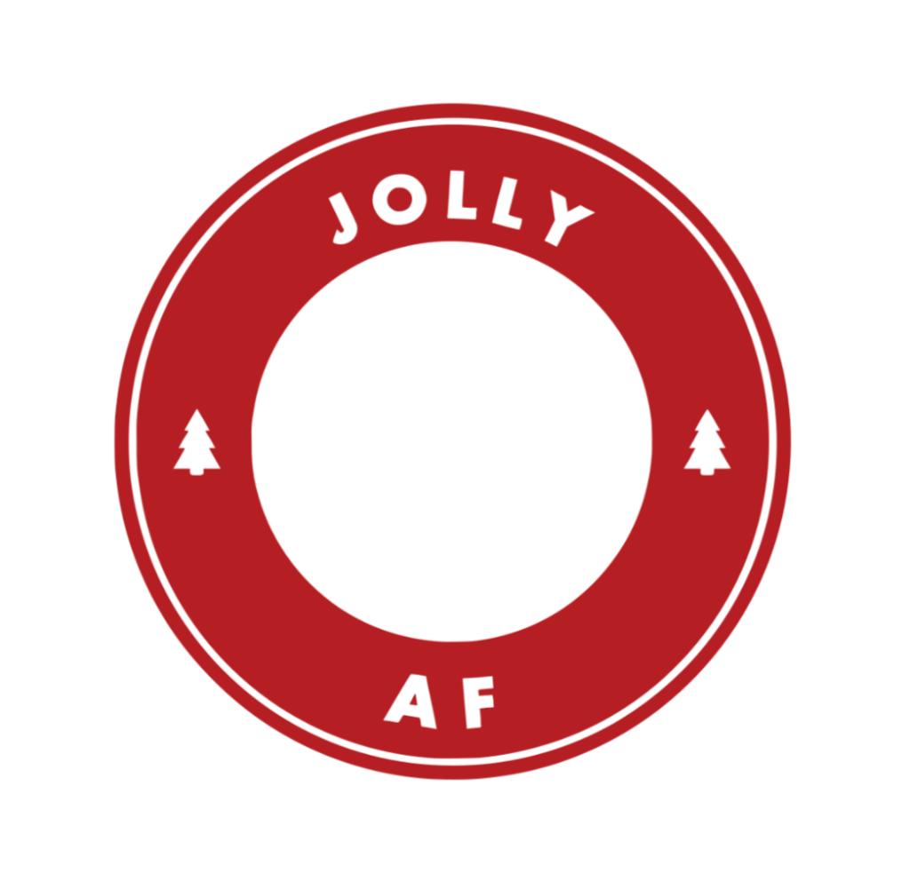 Jolly AF Cold cup, Jolly af, Starbucks diy