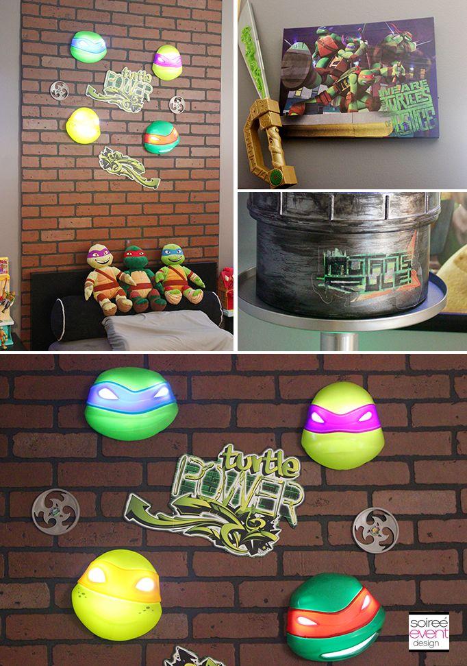 Superbe Project Home Redecorate: Ninja Turtles Bedroom Ideas
