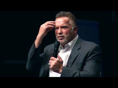 Arnold Schwarzenegger 2018 The Speech That Broke The Internet