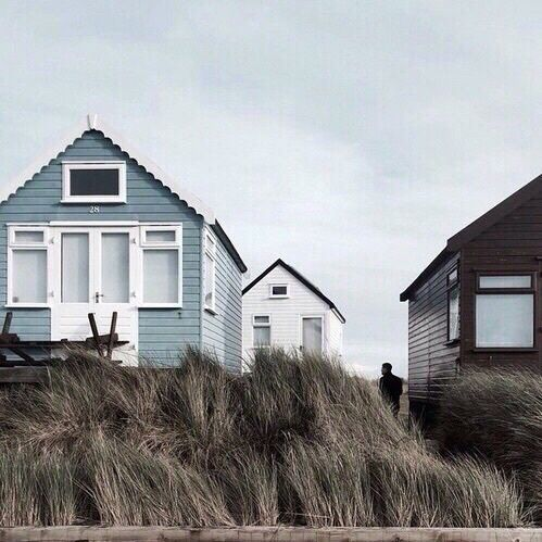Aesthetic Bambi Blue Indie Tumblr White White Bambi Fresh Indie Cottages By The Sea We Were Liars Home