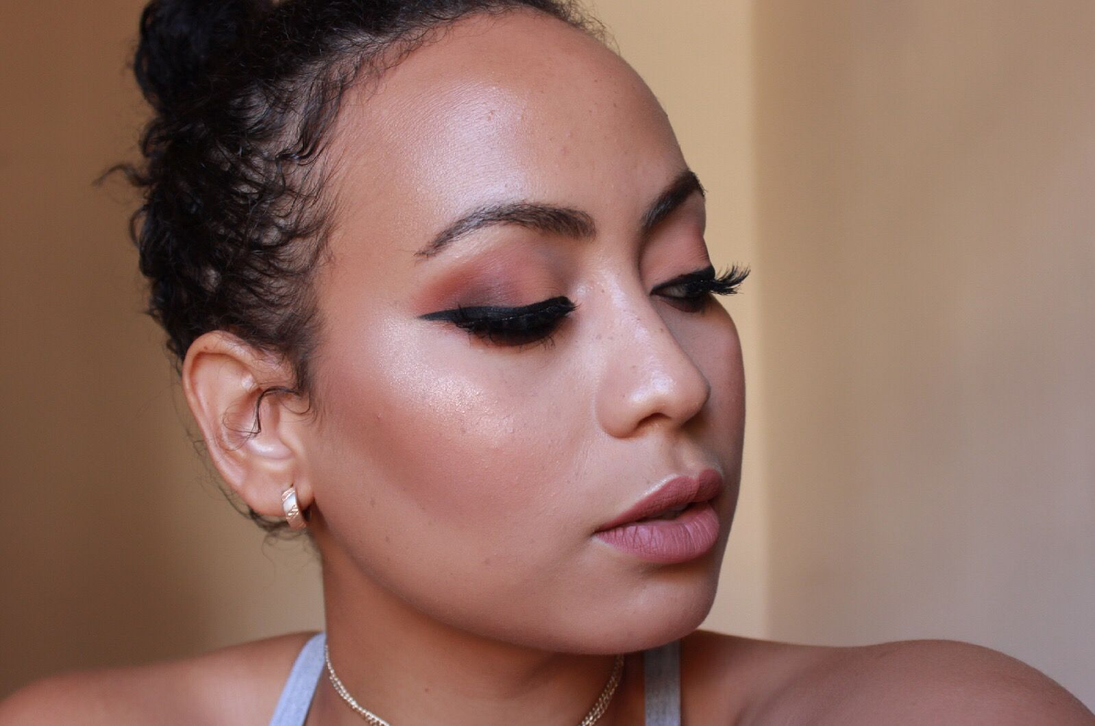 Sultry Eyeliner Makeup Look | Kristy Marlenne