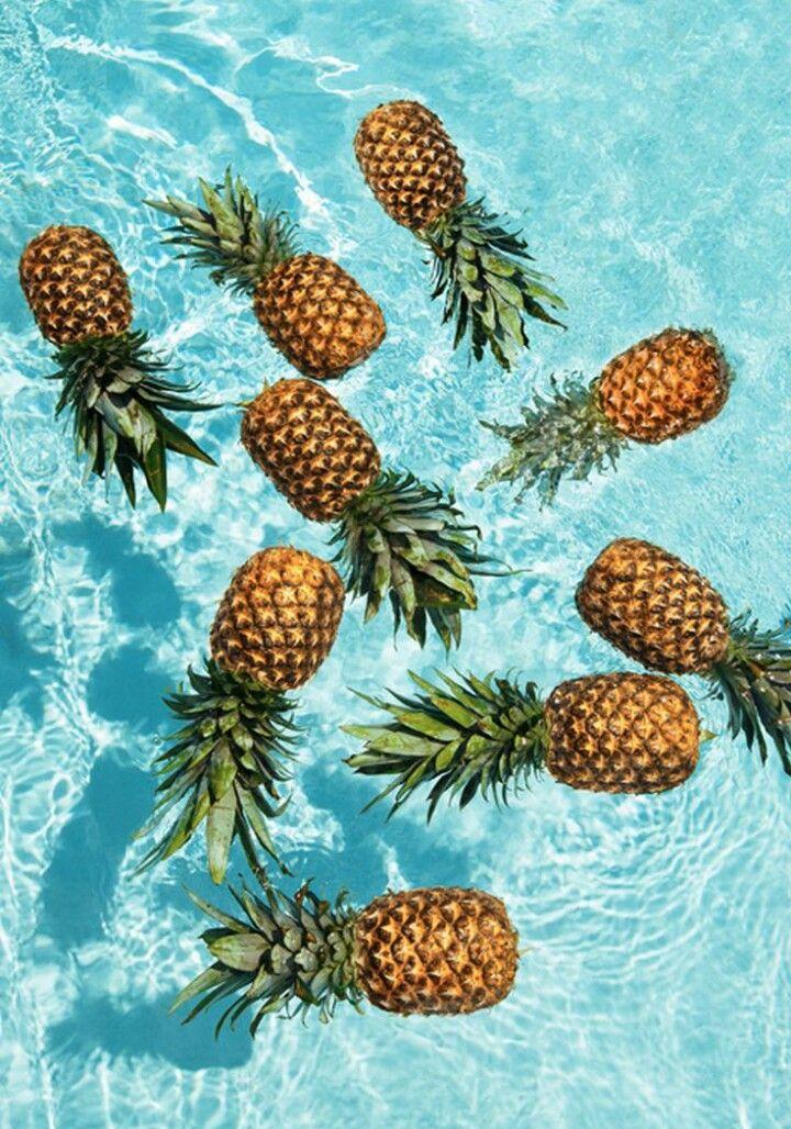 The Pineapple Club Summer wallpaper, Pineapple wallpaper