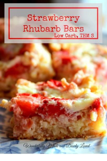 Creamy Strawberry Rhubarb Custard Bars that are an amazing addition to any picnic or potluck!