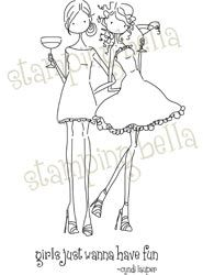 UPTOWN GIRLS VICTORIA AND JULIETTE'S NIGHT OUT from Stamping Bella