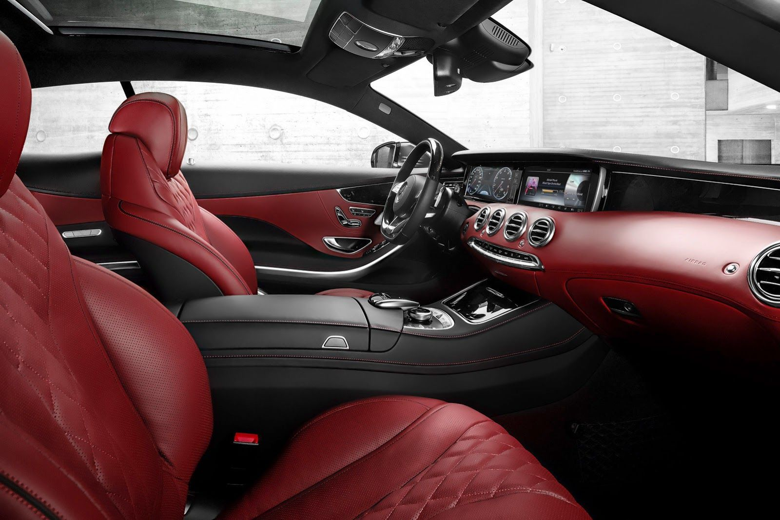 New Mercedes Benz S Class Coupe Makes Official Appearance 64