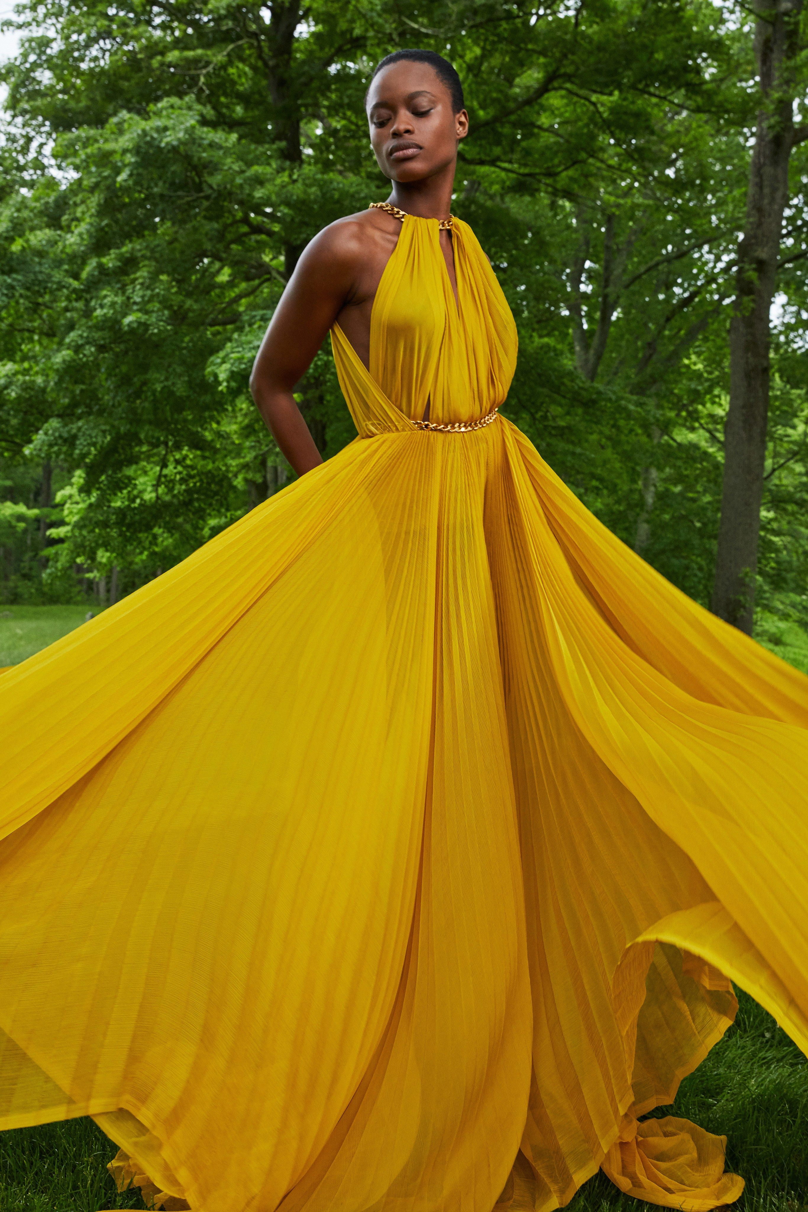 Best Dressed Oscars 2020.Oscar De La Renta Resort 2020 Fashion Show Best Dresses