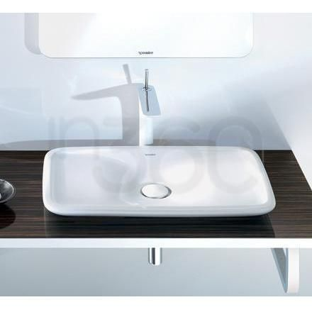 duravit puravida umywalka nablatowa 70x45 cm bia a. Black Bedroom Furniture Sets. Home Design Ideas