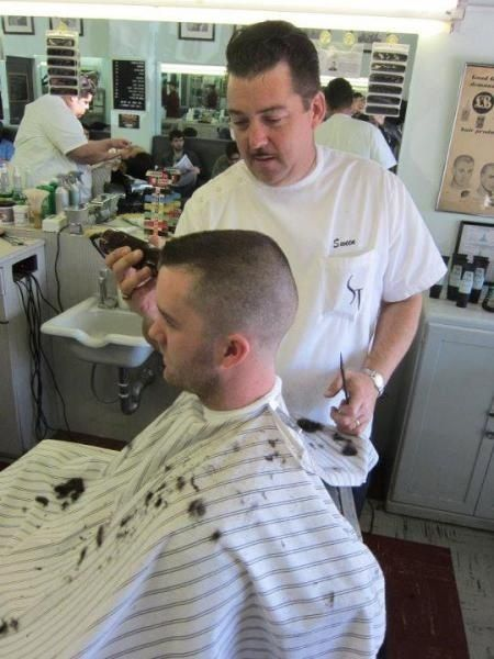 farmboy1962 nice barbershop and a flattop barber shops and barbers pinterest hair cuts. Black Bedroom Furniture Sets. Home Design Ideas