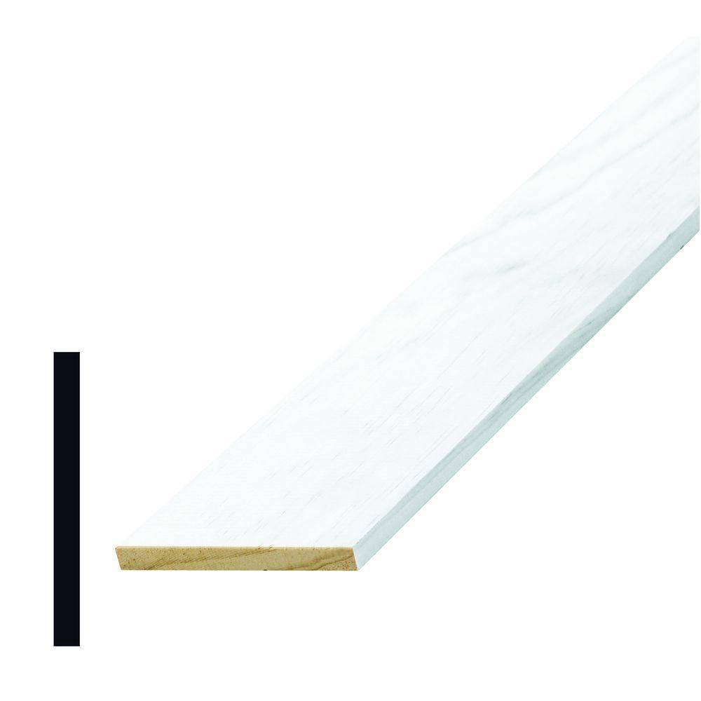 Alexandria Moulding L 264 1/4 in. x 2-1/2 in. x 96 in. Wood Primed ...