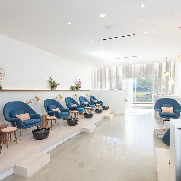 The Best Designed Nail Salons In The Country With Images Nail Salon Interior Nail Salon Design Nail Salon