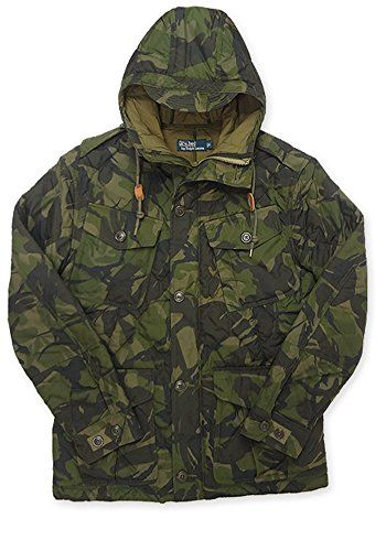 b9d0a2d39bf1f POLO RALPH LAUREN Polo Ralph Lauren Mens Elmwood Quilted Rain Jacket Camo.  #poloralphlauren #cloth #