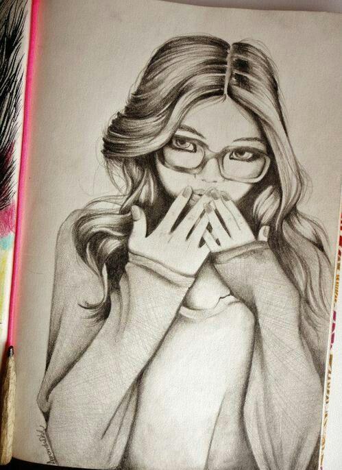 Chica Coqueta Dibujos Dibujos Creativos Pintura Y Dibujo