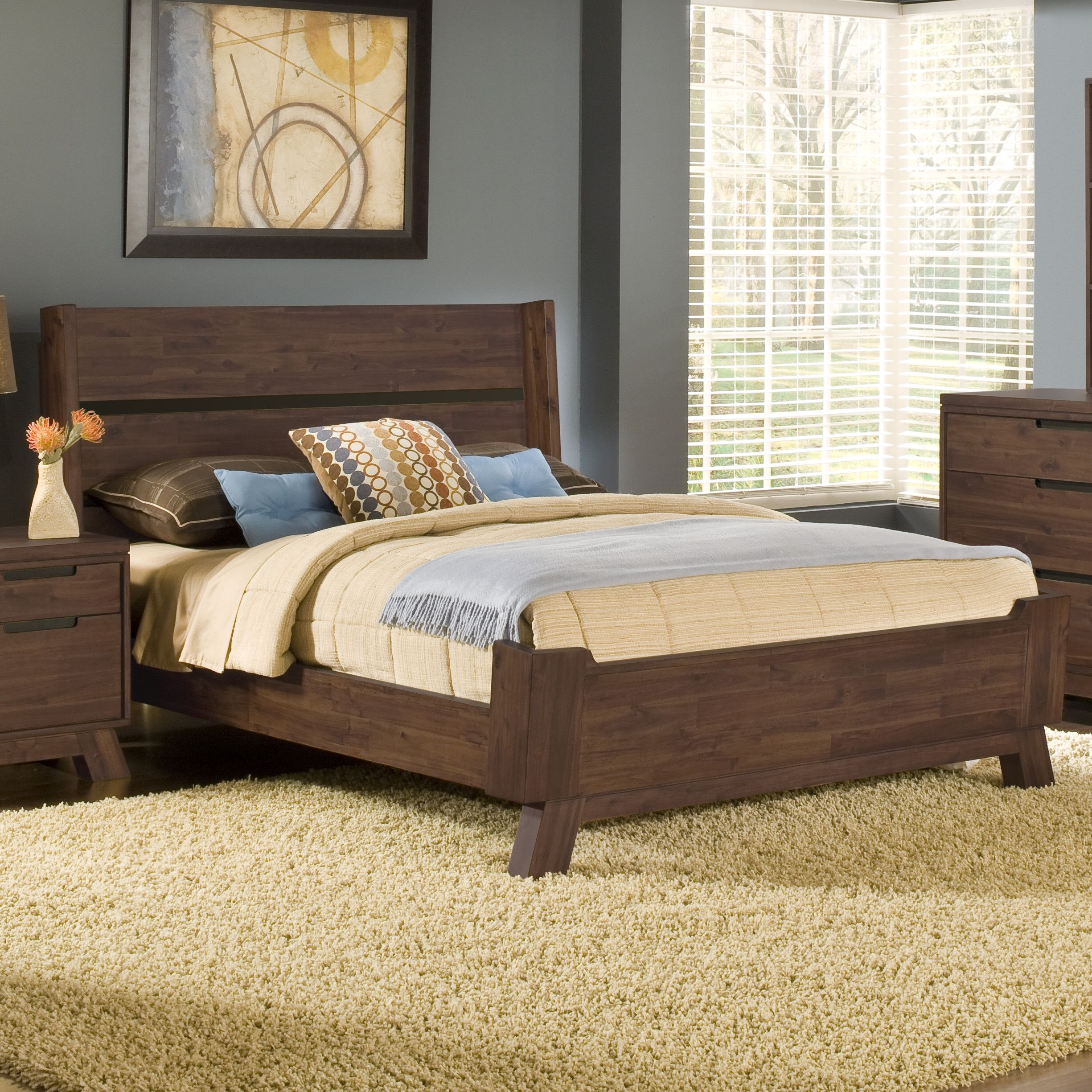 Modus Portland Panel Bed & Reviews - Wayfair