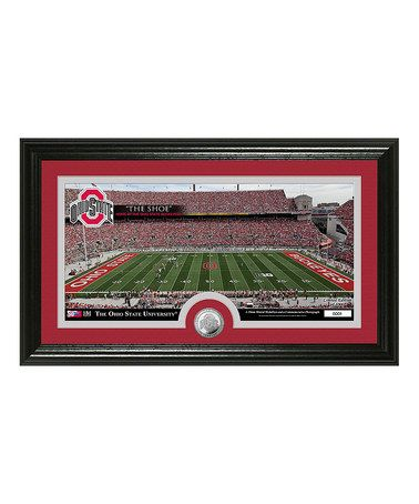 Another great find on #zulily! Ohio State Buckeyes Stadium Photo Mint by The Highland Mint #zulilyfinds #ohiostate #buckeyes #osu #football