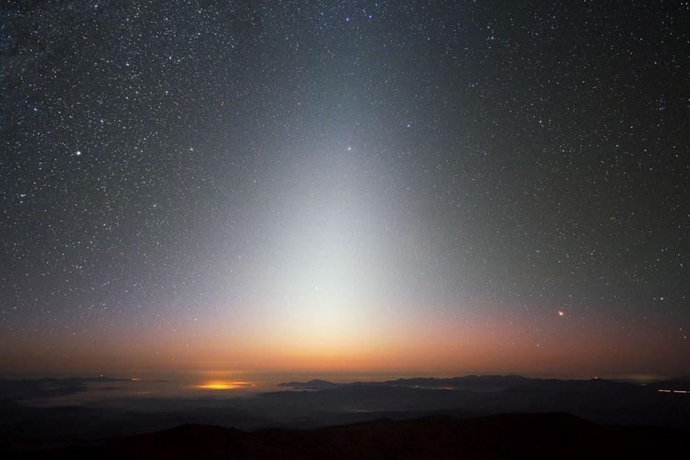 Zodiakaal licht, Chili