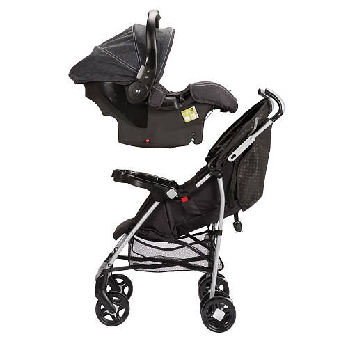 Safety 1st UniLite Universal Car Seat Umbrella Stroller - Blackstone