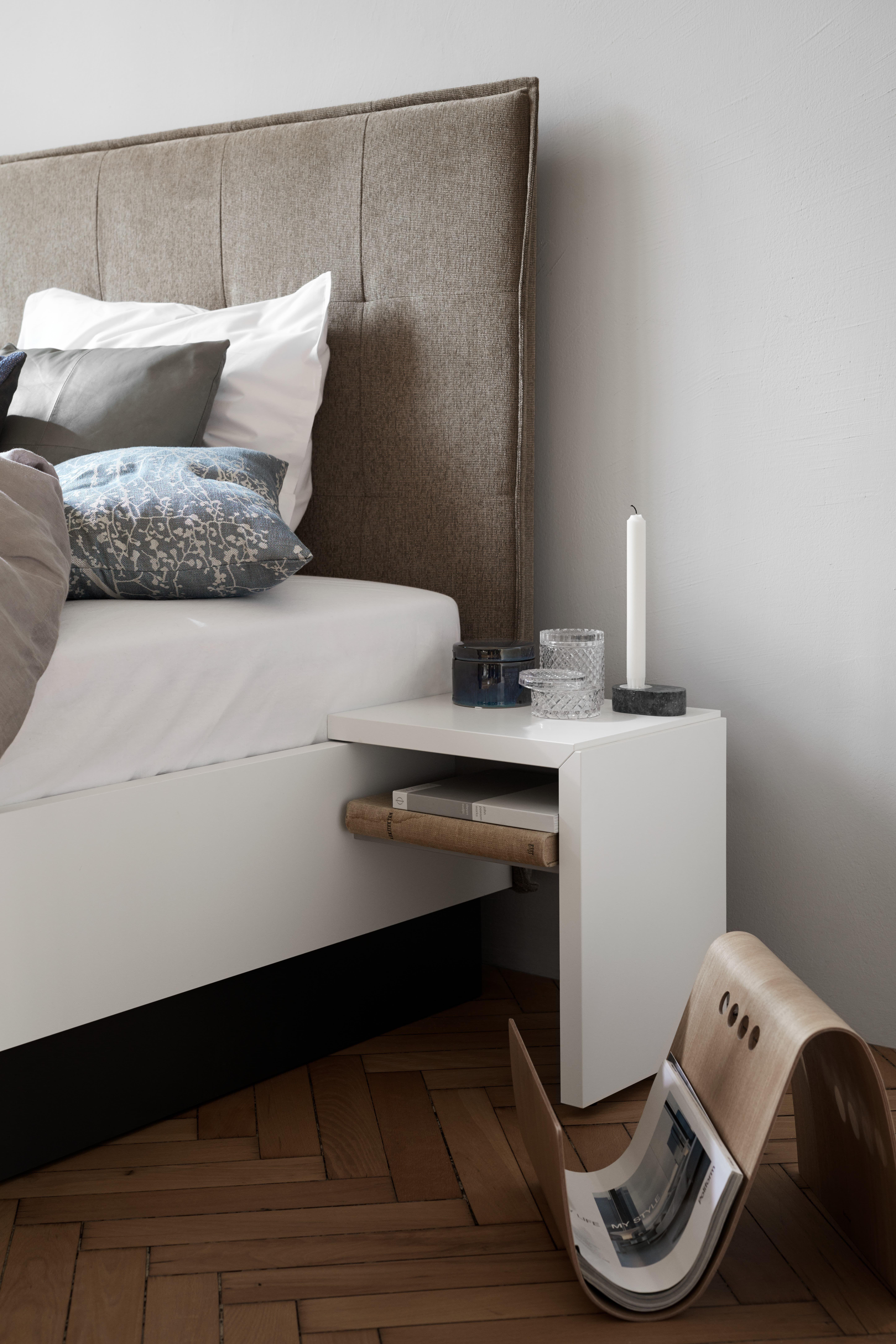 Lugano Nachttisch Bett Modern Schlafzimmer Inspiration Und