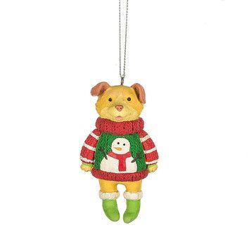 You'll love the Specialty Dog in Ugly Sweater Ornament at Wayfair.ca - Great Deals on all Décor  products with Free Shipping on most stuff, even the big stuff.
