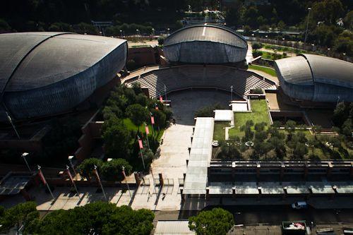 """Renzo Piano  Auditorium """"Parco della Musica"""" Roma"""