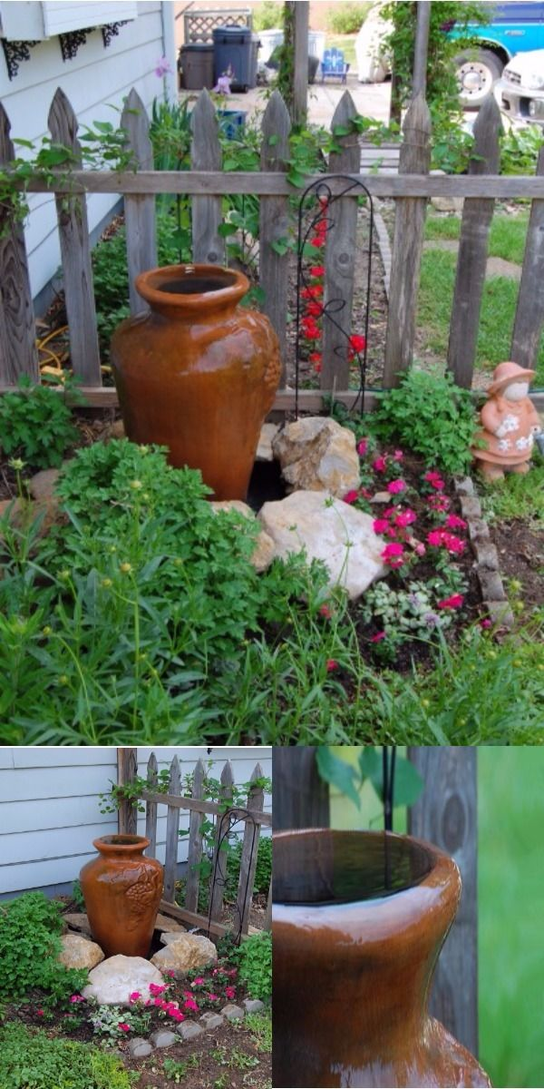 Diy Water Feature Ideas To Make Your Home And Garden Lovely Diy Water Feature Diy Garden Fountains Home Garden