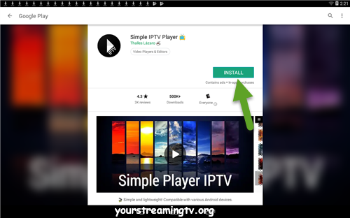simple tv player apk download