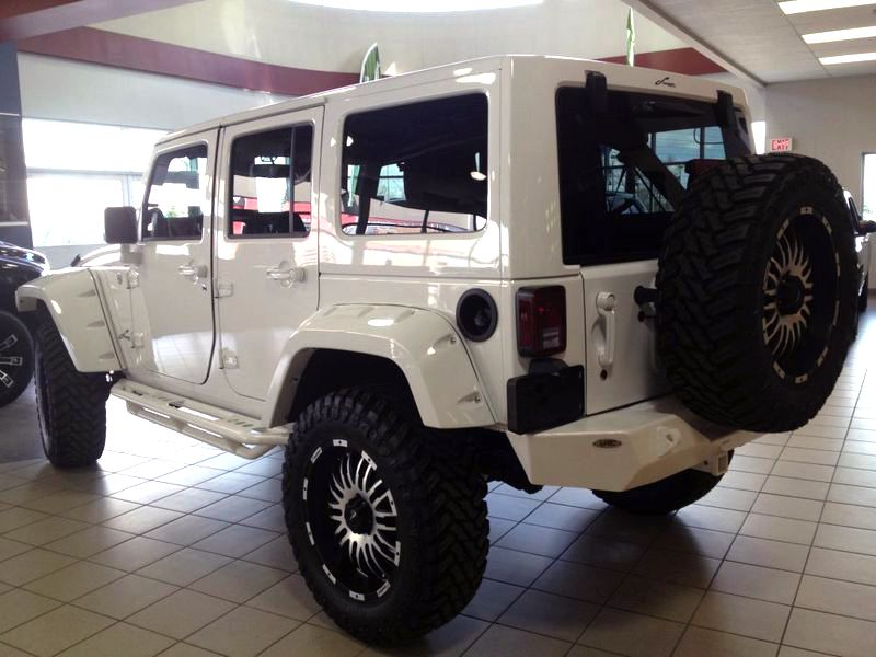 2013 Jeep Wrangler Unlimited Sahara Parts Purchased And Installed