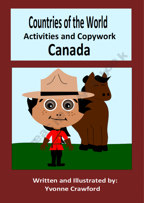This booklet focuses on the country of Canada. Your students will learn facts about Canada while practicing their manuscript and cursive handwriting and engaging in fun activities.