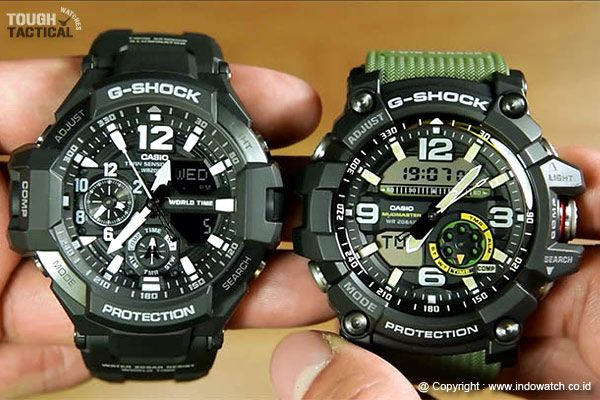 G Shock GG 1000 Mudmaster VS GA 1100 Gravitymaster Which