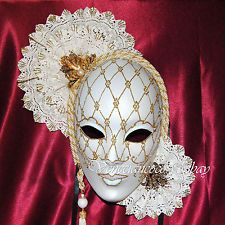 Decorative Venetian Masks Delectable Gorgeous Decorative Venetian Mask Wall Decor Maskface White Mask Design Ideas
