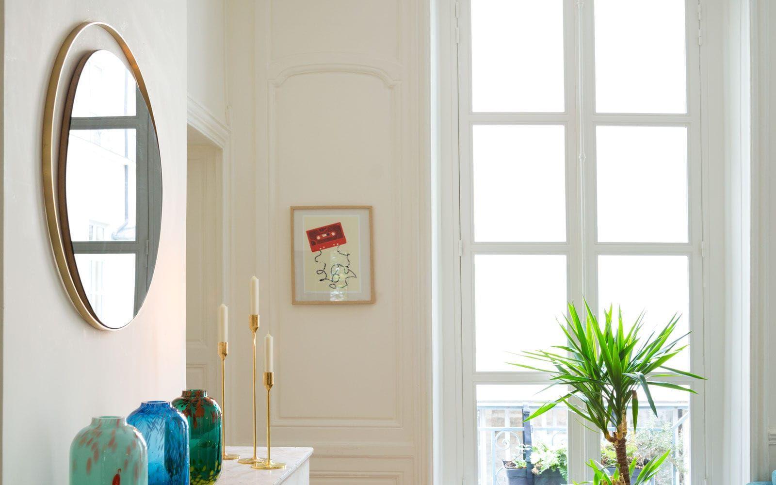 Messing Spiegel | Designer Möbel | Messing Beistelltisch | Modernes ...