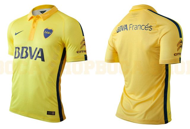 Terceira camisa do Boca Juniors 2015 Nike  d5470291c5edb