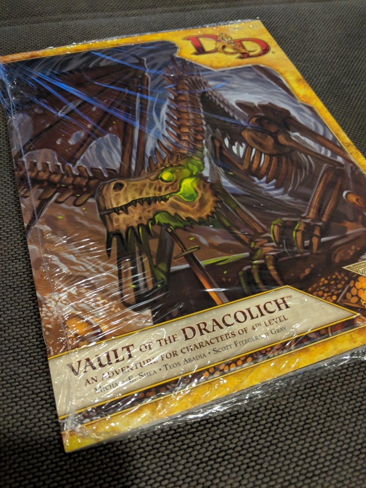 Adventure Modules 44113 Vault Of The Dracolich Rare Sealed