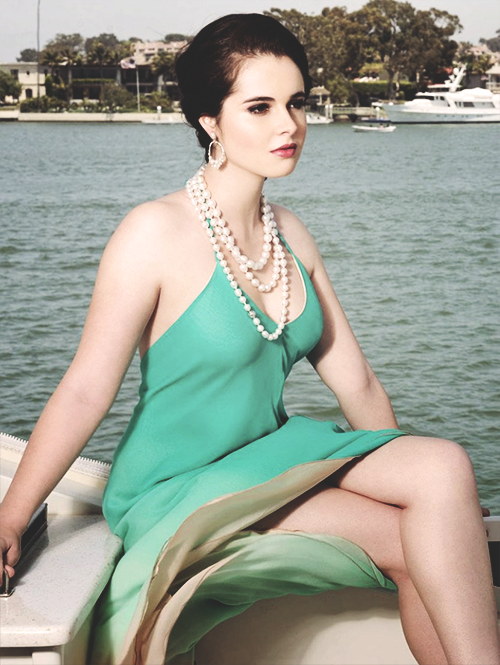 Vanessa Marano at Regard Magazine (June 2014).